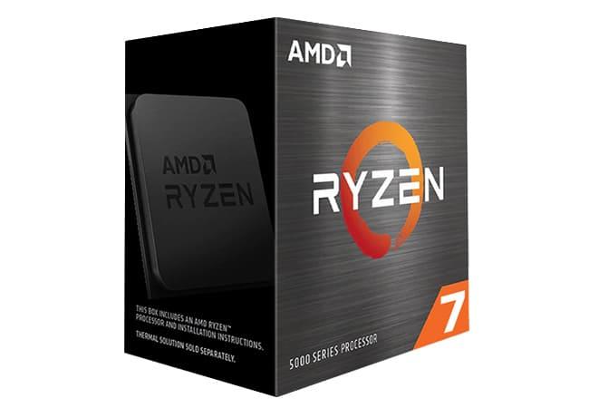 Gaming PC mit AMD Ryzen 7 5000-Serie Prozessor