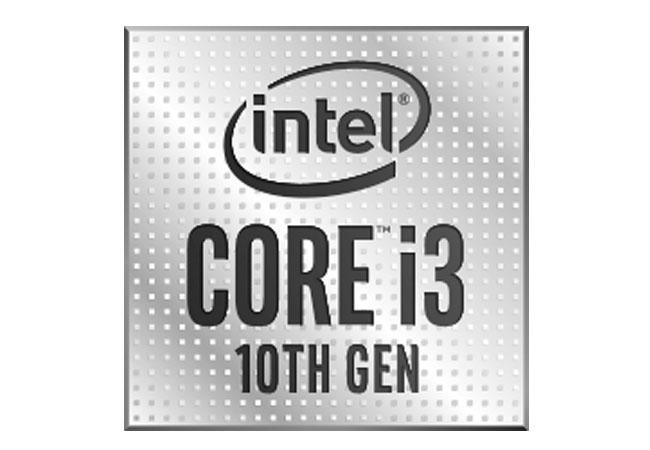 PC mit Intel Core i3 CPU der 10. Generation