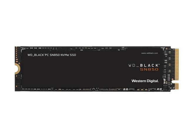 PC mit WD Black 850 SSD