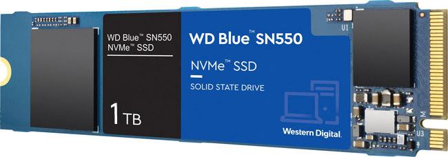 PC mit WD Blue SSD