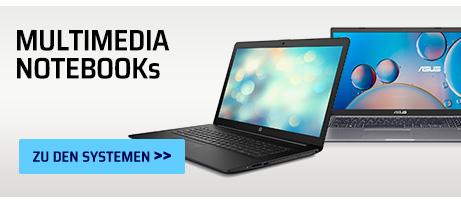 Multimedia Notebooks mit Windows 11